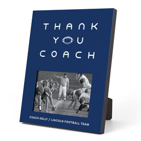 Football Photo Frame - Thank You Coach