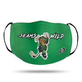 Seams Wild Hockey Face Mask - Chantler