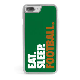 Football iPhone® Case - Eat. Sleep. Football.