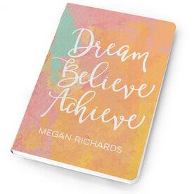 Personalized Notebook - Dream Believe Achieve