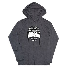 Women's Hockey Lightweight Hoodie - 4 Out of 5 Dentists Recommend Hockey