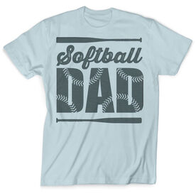 Vintage Softball T-Shirt - Softball Dad
