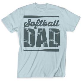 Vintage Softball T-Shirt - Softball Dad
