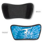 Gymnastics Repwell® Sandal Straps - Tie-Dye Silhouette