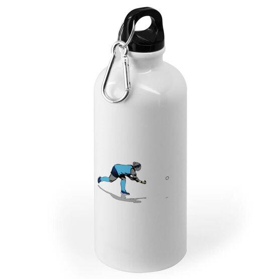 Field Hockey 20 oz. Stainless Steel Water Bottle - Go For The Goal