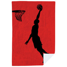 Basketball Premium Blanket - Slam Dunk