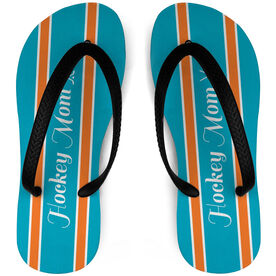 Hockey Flip Flops Mom