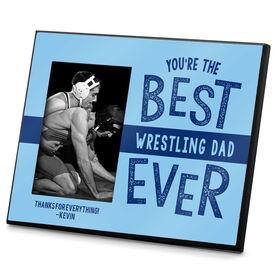 Wrestling Photo Frame Best Wrestling Dad Ever