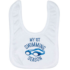 Swimming Baby Bib - My First Swimming Season