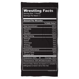 Wrestling Beach Towel Wrestling Facts