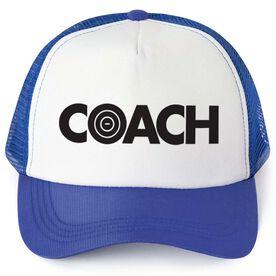 Wrestling Trucker Hat - Coach