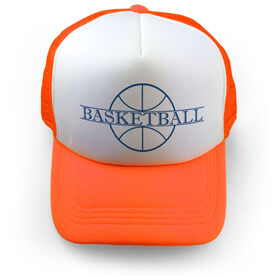 Basketball Trucker Hat - Crest