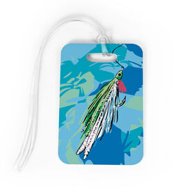 Fly Fishing Bag/Luggage Tag - Watercolor Deceiver