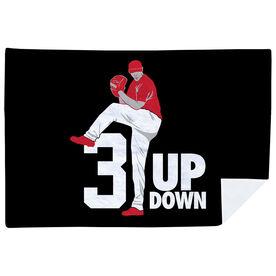 Baseball Premium Blanket - 3 Up 3 Down