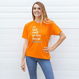 Baseball Short Sleeve T-Shirt - FANtastic Boston