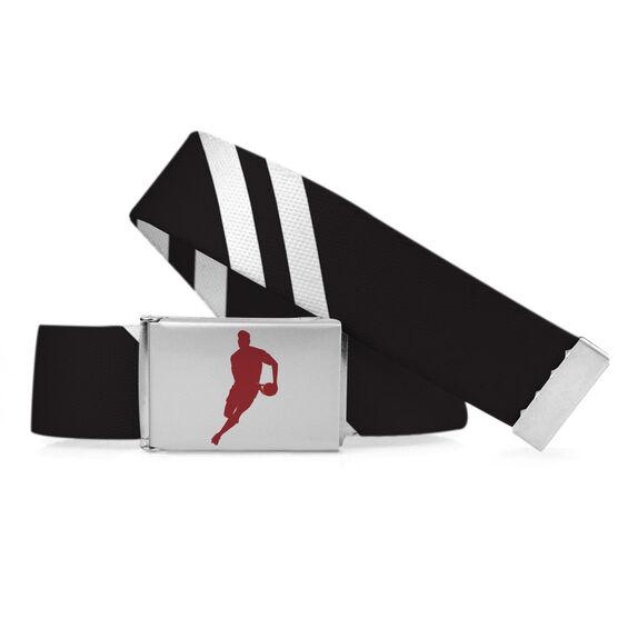 Rugby Lifestyle Belt Diagonal Stripes