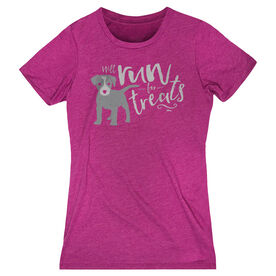 Women's Everyday Tee Will Run For Treats