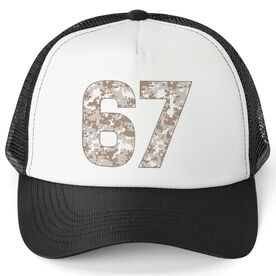 Trucker Hat - Marine Custom Number