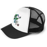 Seams Wild Lacrosse Trucker Hat - Jumpin' Jack