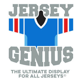 JerseyGenius® The Jersey and Shirt Wall Display Unit