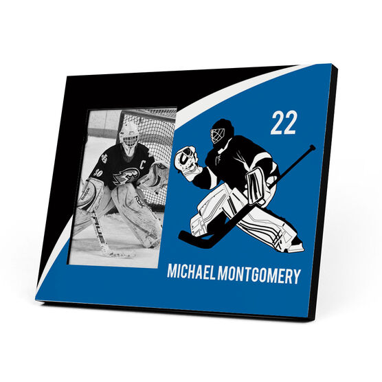 Hockey Photo Frame - Stonewall Goalie