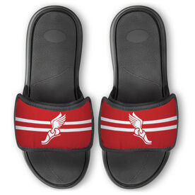 Track & Field Repwell® Slide Sandals - Winged Foot