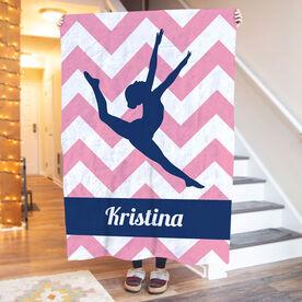 Gymnastics Premium Blanket - Leap Of Faith