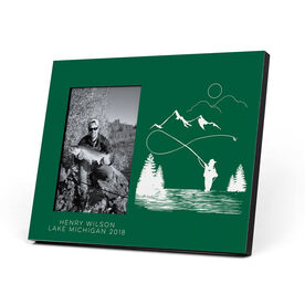Fly Fishing Photo Frame - Fishing Adventure