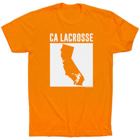 Guys Lacrosse Short Sleeve T-Shirt - California Lacrosse