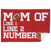 Football Premium Blanket - Personalized Football Mom
