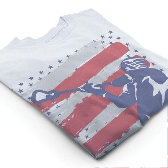 Guys Lacrosse Vintage T-Shirt - USA Lacrosse