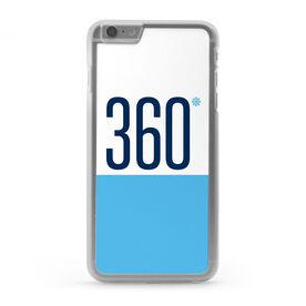 Skiing & Snowboarding iPhone® Case - Degree Turns