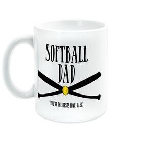Softball Coffee Mug - Softball Dad