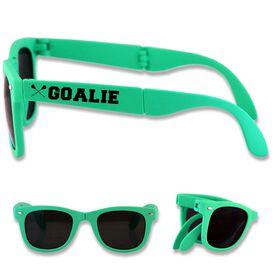 Foldable Lacrosse Sunglasses Lacrosse Goalie