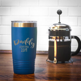 Personalized 20 oz. Double Insulated Tumbler - Daddy Established