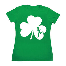 Women's Everyday Runners Tee Shamrock With Cutout Female Runner