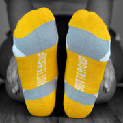 Socrates® Woven Performance Sock Suck It Up (Yellow)