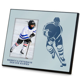 Hockey Photo Frame Player Silhouette