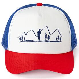 Running Trucker Hat - Mountains (Female)