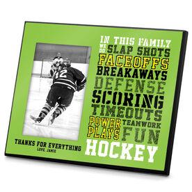 Hockey Photo Frame We Do Hockey