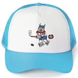 Seams Wild Hockey Trucker Hat - Bobby Ice