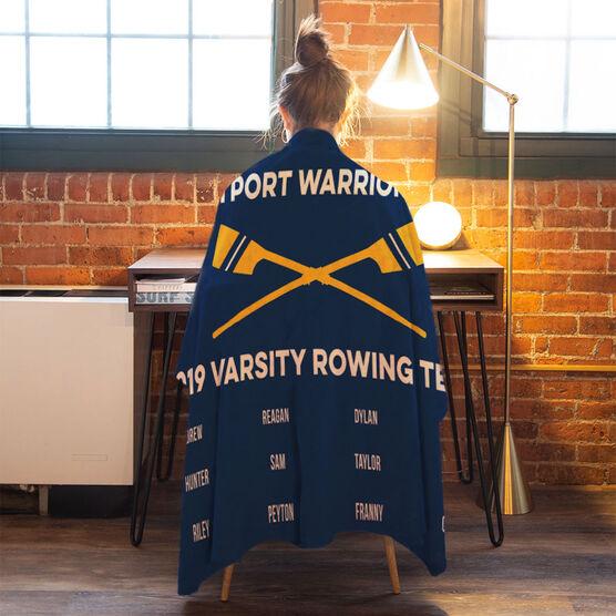 Crew Premium Blanket - Team Roster
