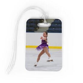 Figure Skating Bag/Luggage Tag - Custom Photo
