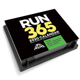 Runner's 2020 Daily Desk Calendar