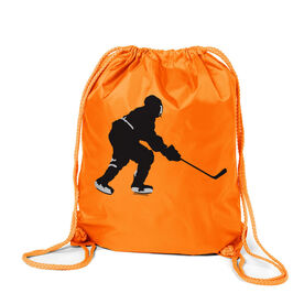 Hockey Player Sport Pack Cinch Sack