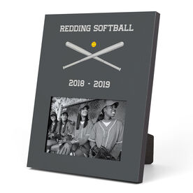 Softball Photo Frame - Team