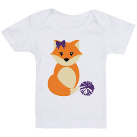 Cheerleading Baby T-Shirt - Cheer Fox