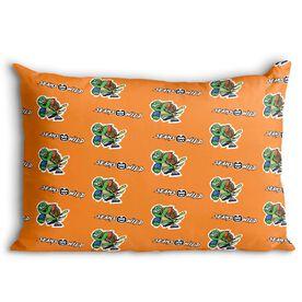 Seams Wild Football Pillowcase - Slowyo (Pattern)
