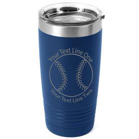 Softball 20 oz. Double Insulated Tumbler - Icon