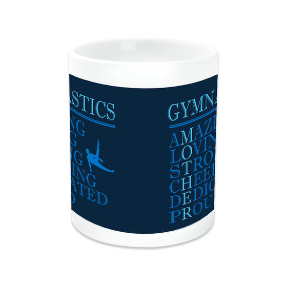 Gymnastics Coffee Mug - Mother Words (Guy Gymnast)